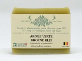 Savon & shampooing à l'Argile verte