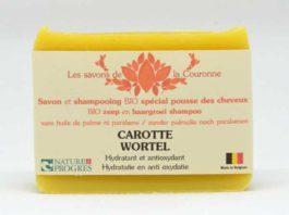 Savon & shampooing à la Carotte