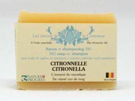 Savon & shampooing à la Citronnelle