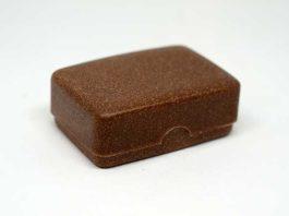 Boite à savon compostable